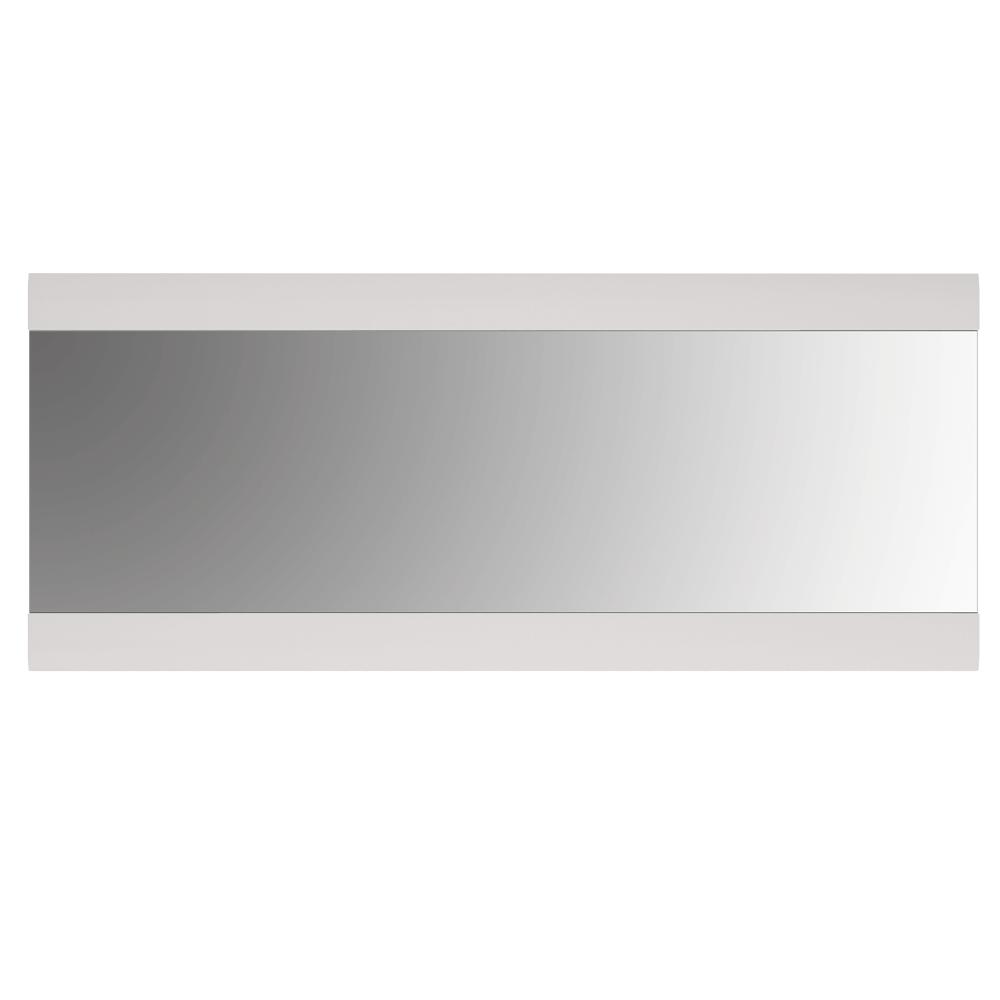 Zrcadlo velké, bílá extra vysoký lesk HG, LYNATET TYP 121, TEMPO KONDELA