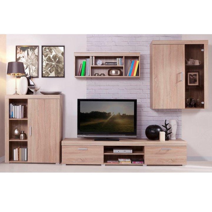 TV asztal/szekrény typ 5, tölgy sonoma, DAVIS