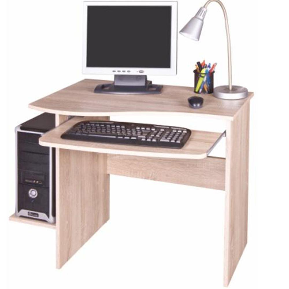 PC asztal, sonoma tölgyfa, MELICHAR