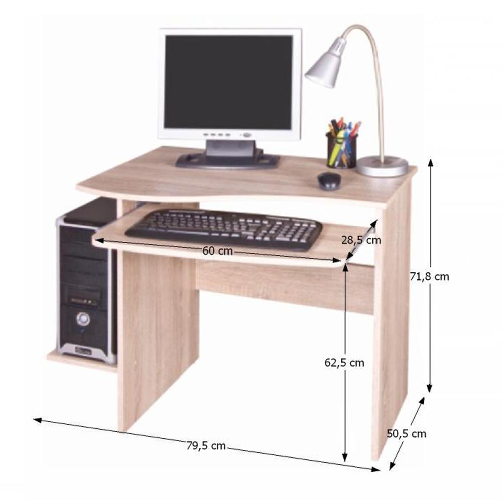 PC stůl, dub sonoma, MELICHAR, TEMPO KONDELA