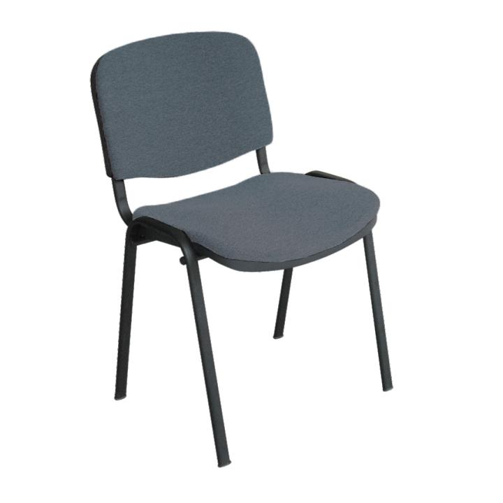 Kancelárska stolička, sivá, ISO NEW C26