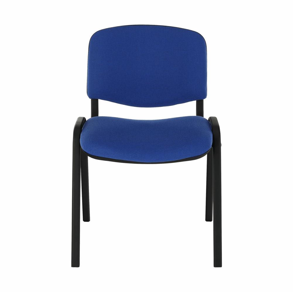 Židle, modrá, ISO NEW