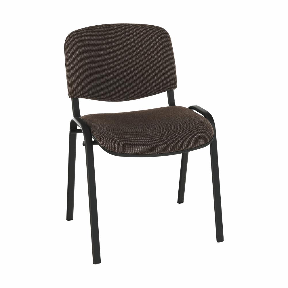 Židle, hnědá, ISO NEW