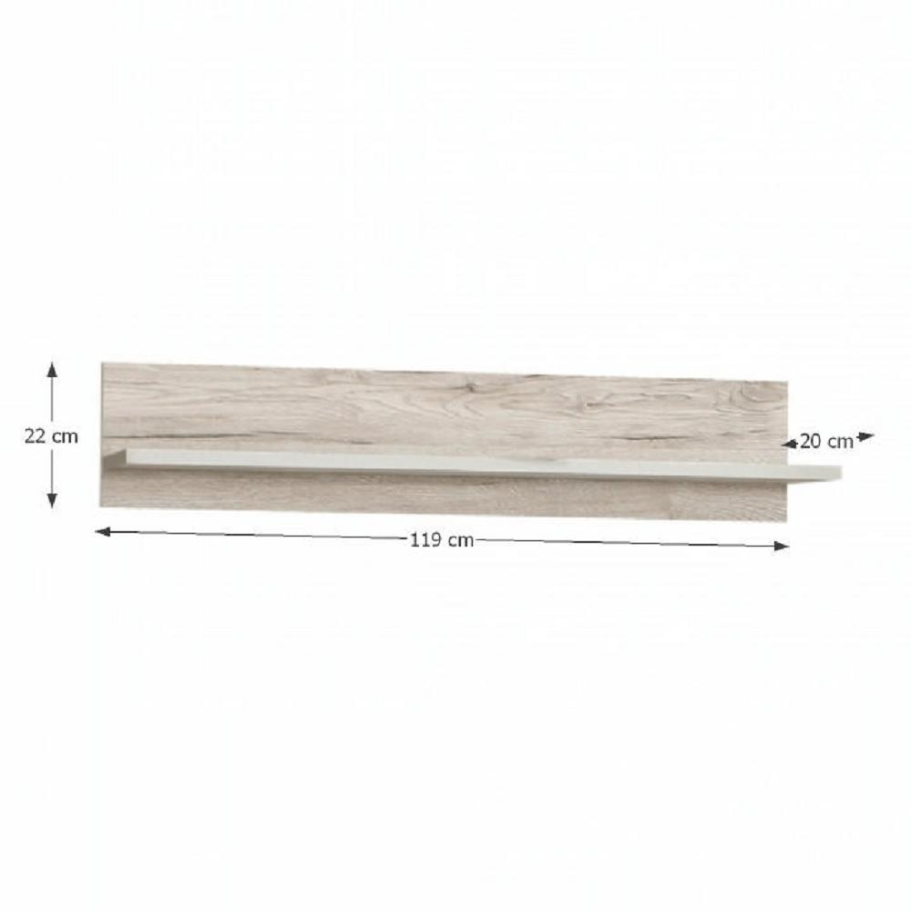 Police, dub pískový / bílá, VALERIA
