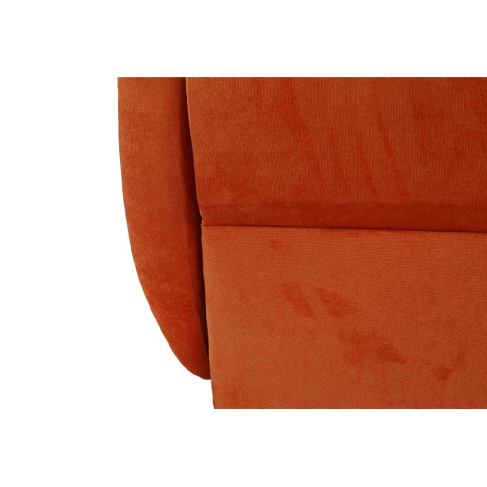 Rozkládací křeslo, oranžová, MILI 1, TEMPO KONDELA