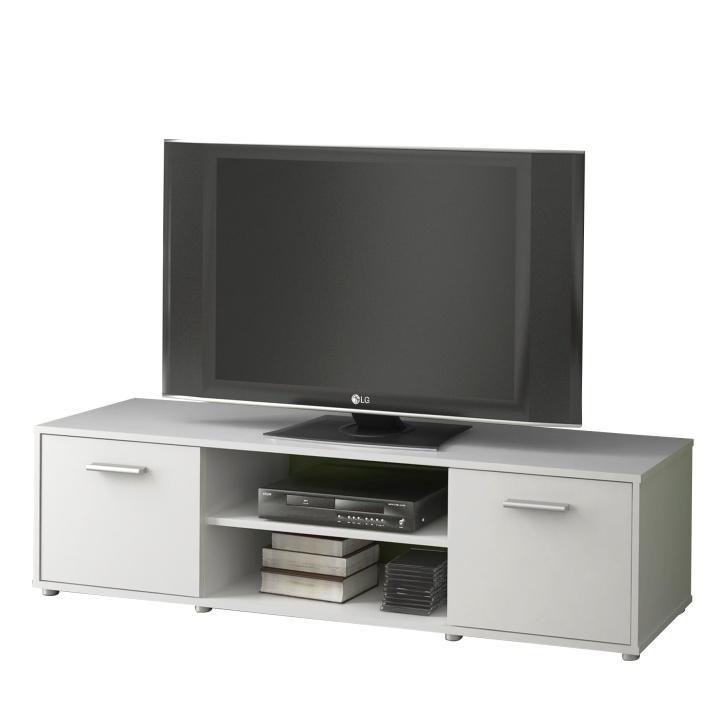 TV stolík/skrinka, biela, ZUNO 01
