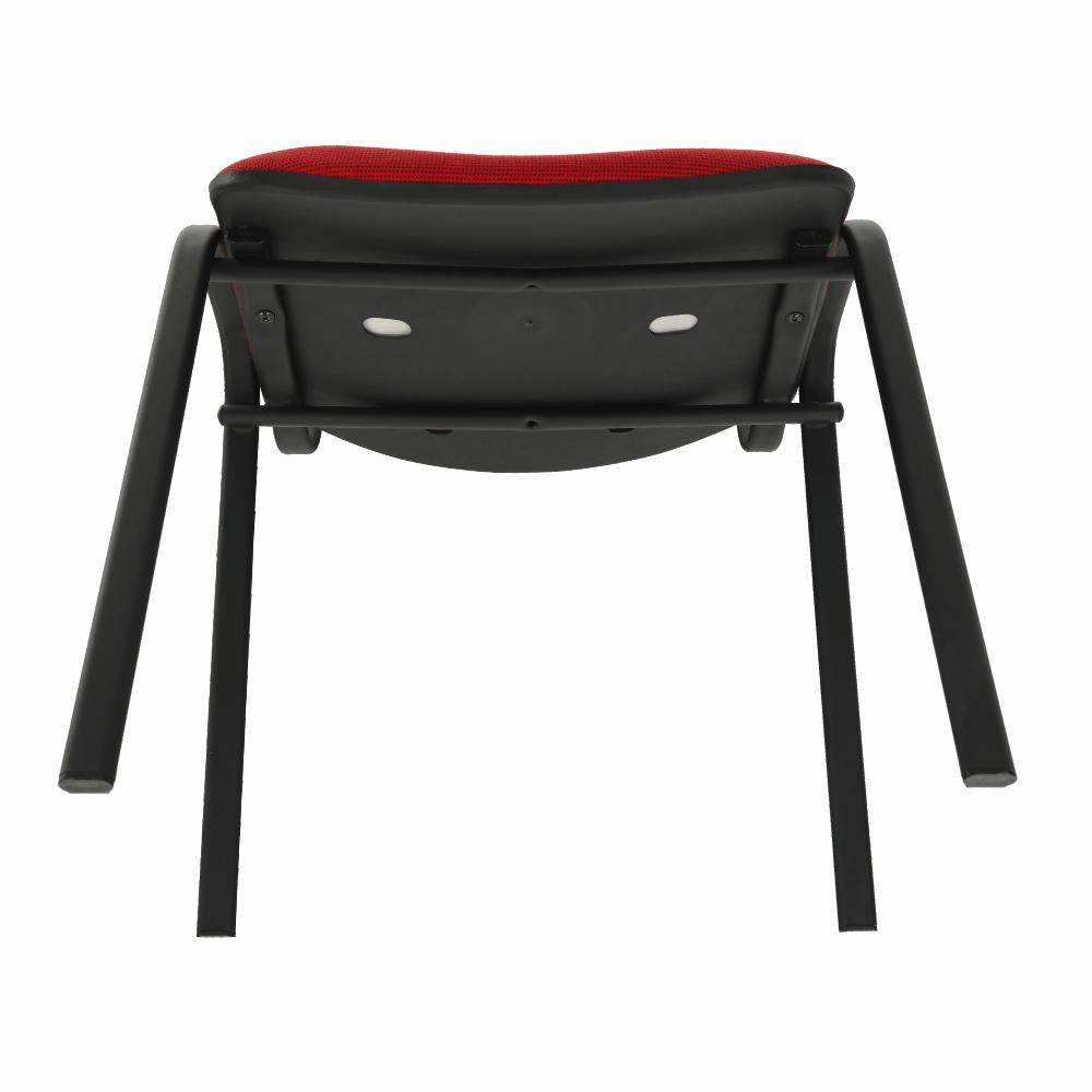 Kancelářská židle, červená, ISO NEW