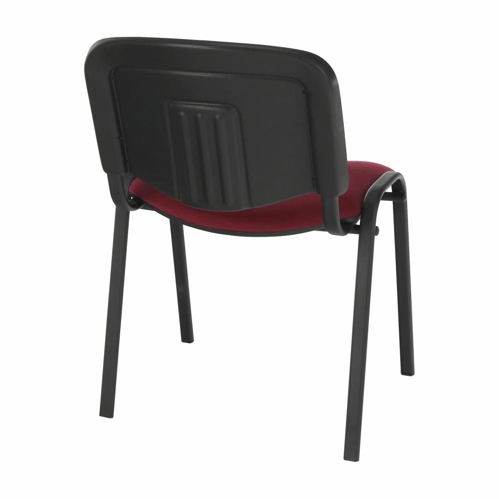 Kancelářská židle, bordó, ISO NEW