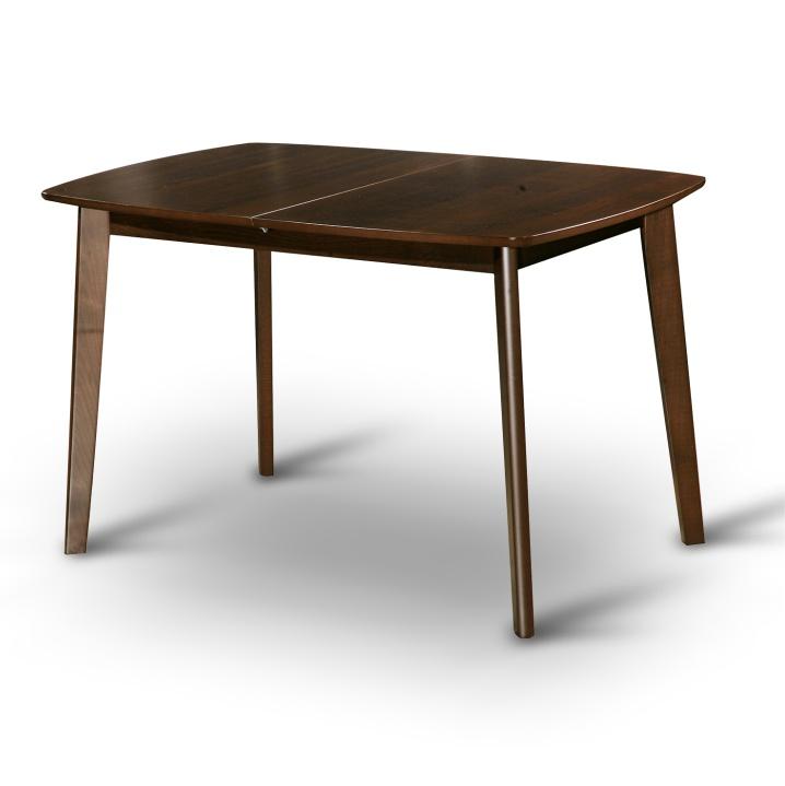 Étkező masszív összecsukható asztal, dió, CHAN