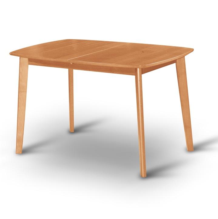 Étkező masszív összecsukható asztal, mézes tölgyfa, CHAN