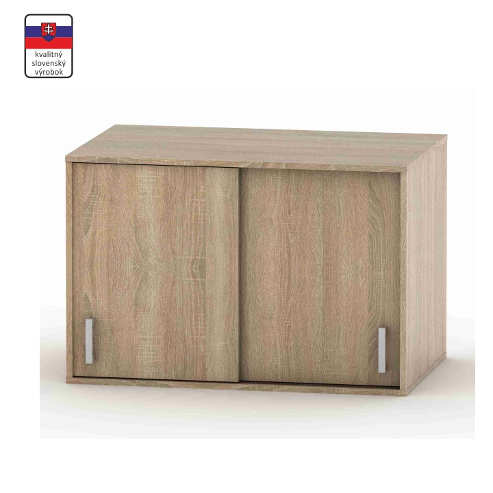 Nadstavec na skriňu, dub sonoma, BETTY 4 BE04-004-00
