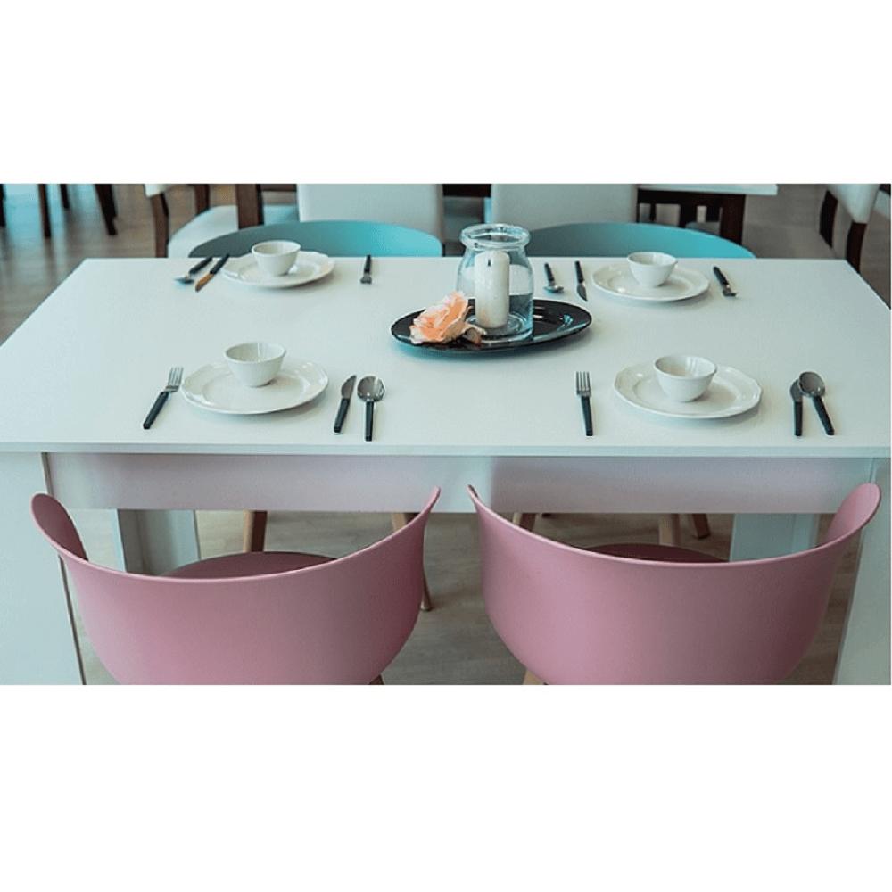 Jídelní stůl, bílá, 140, TOMY NEW, TEMPO KONDELA