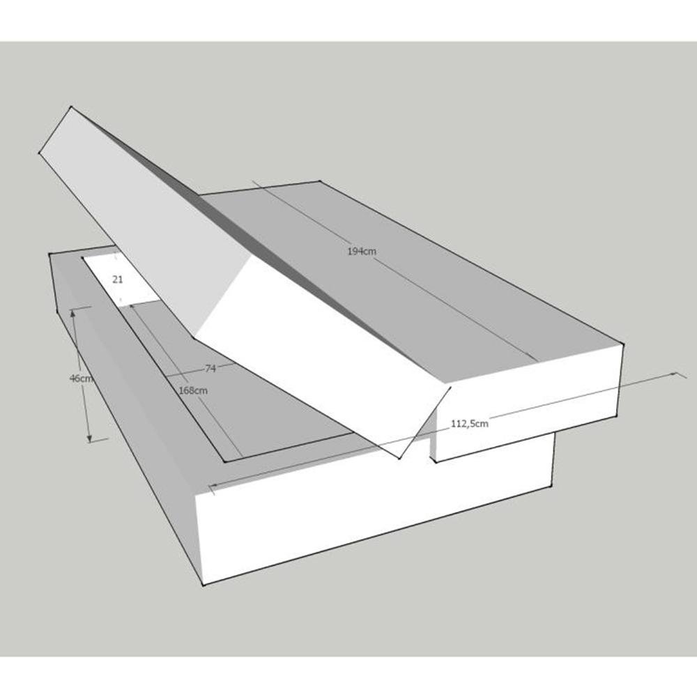 Kanapé ágyfunkcióval és ágyneműtartóval,szövet türkiz, ALABAMA