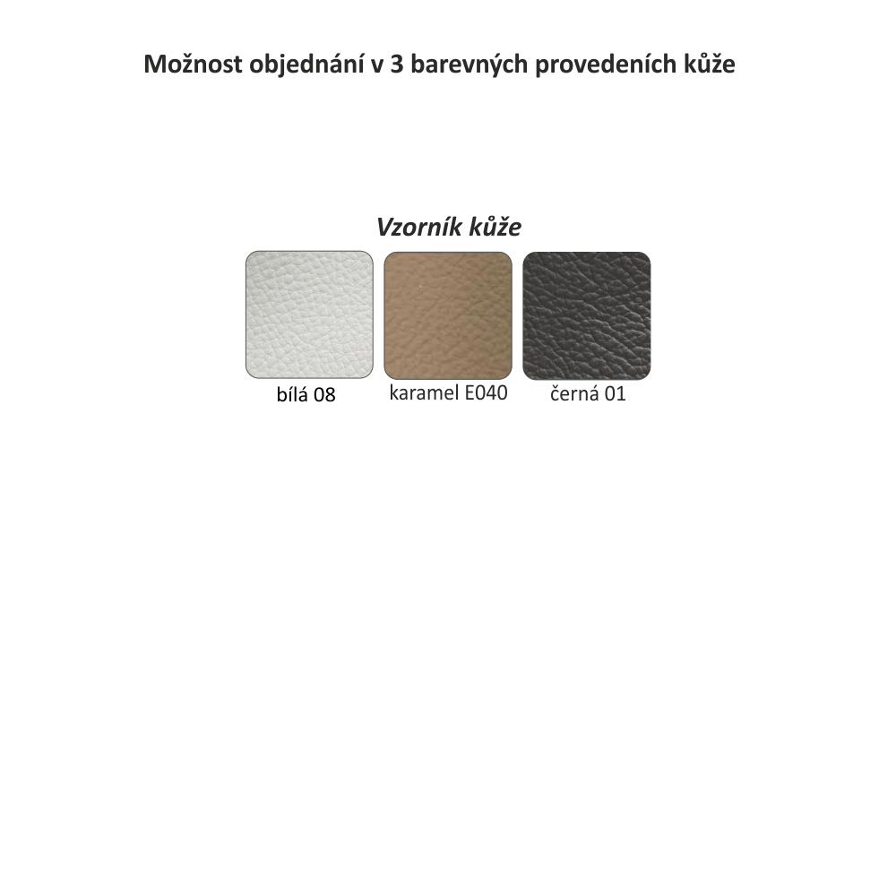 LAREDO - Luxusní sedací souprava, kůže / ekokůže hnědočervená, levá, TEMPO KONDELA