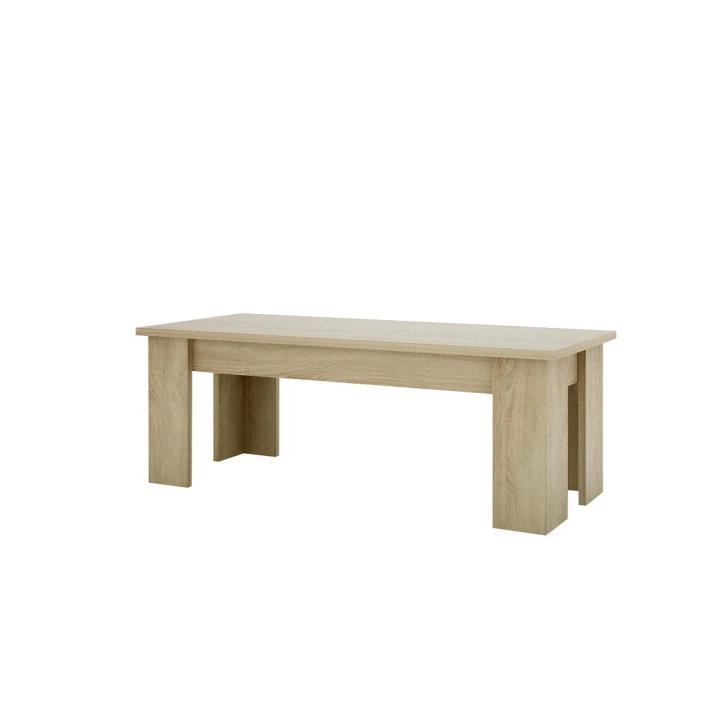 Konferenčný stolík typ 01, dub sonoma, KASIOPEA