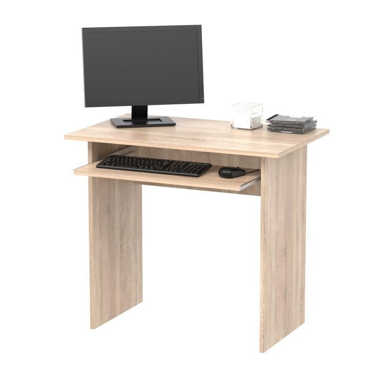 PC stôl, dub sonoma, VERNER, Český výrobok