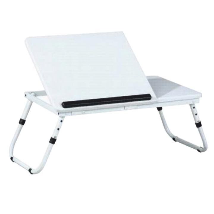 Notebook asztal LY1479, fehér, EVALD