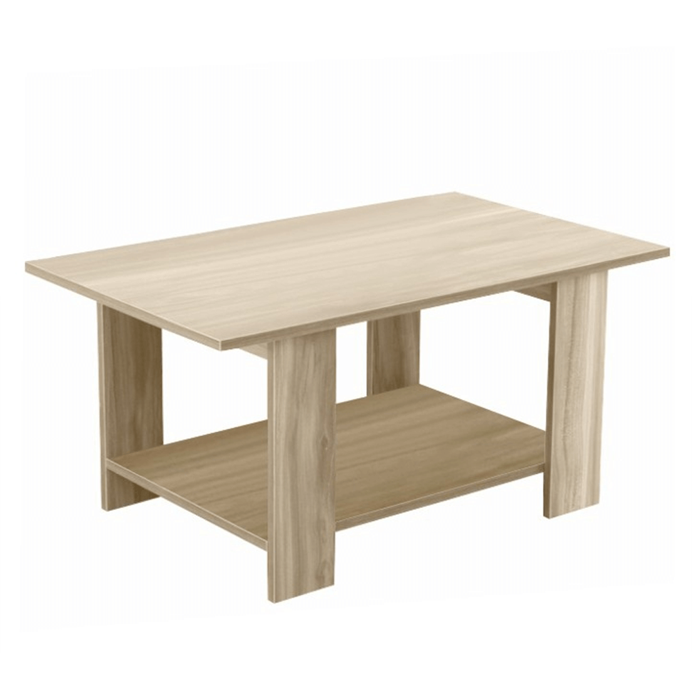 DEREK - Konferenční stolek, dub sonoma, TEMPO KONDELA