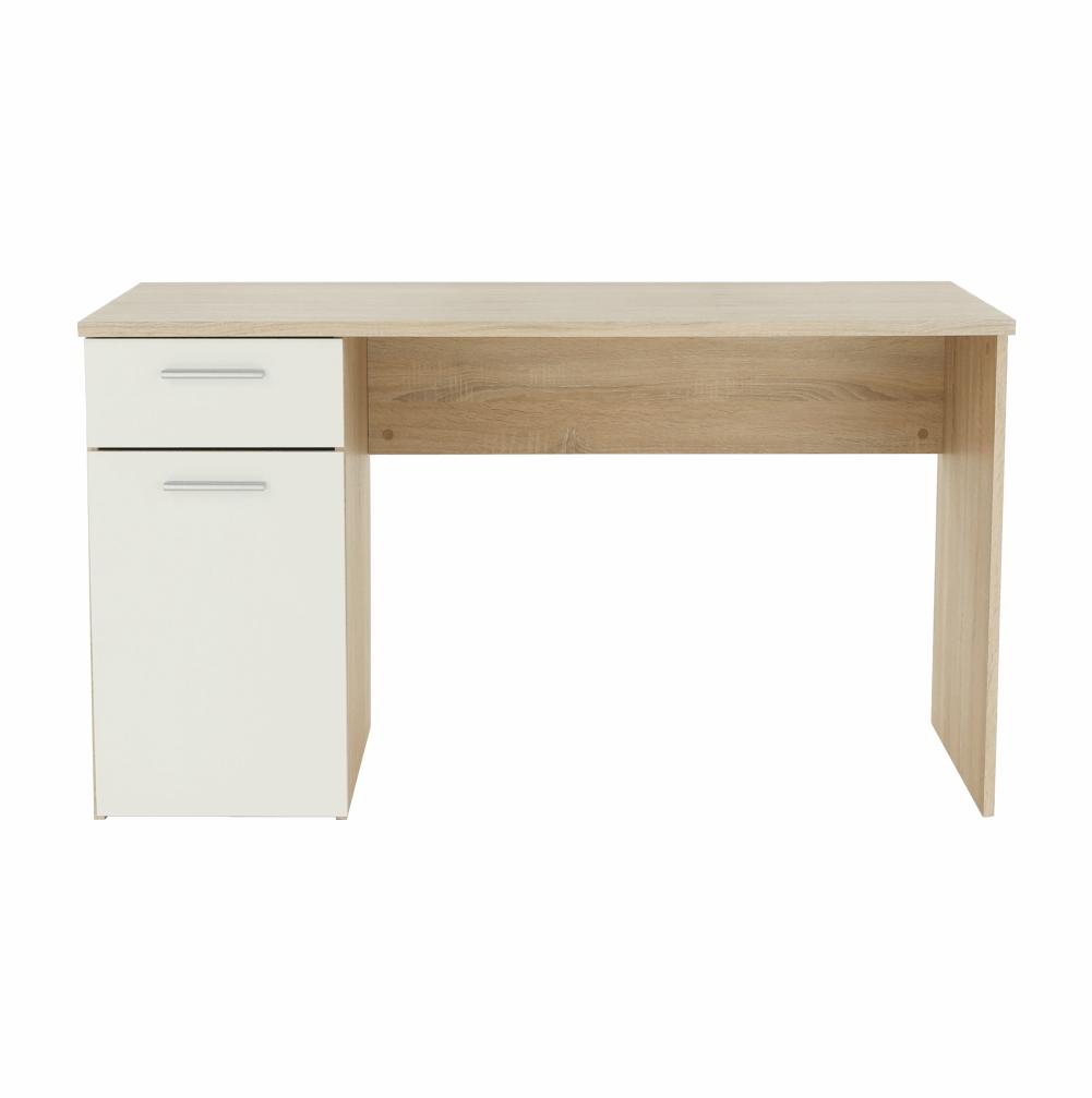 PC stůl, dub sonoma / bílý, EGON