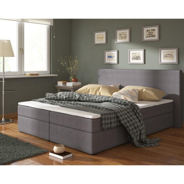 poste l tka savana 05 siv typ boxpring 160x200 boxspring komfort 1 tempo kondela. Black Bedroom Furniture Sets. Home Design Ideas