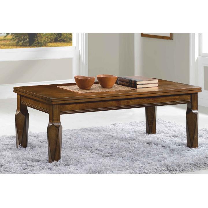 Konferenčný stolík, antický dub, RUSTY