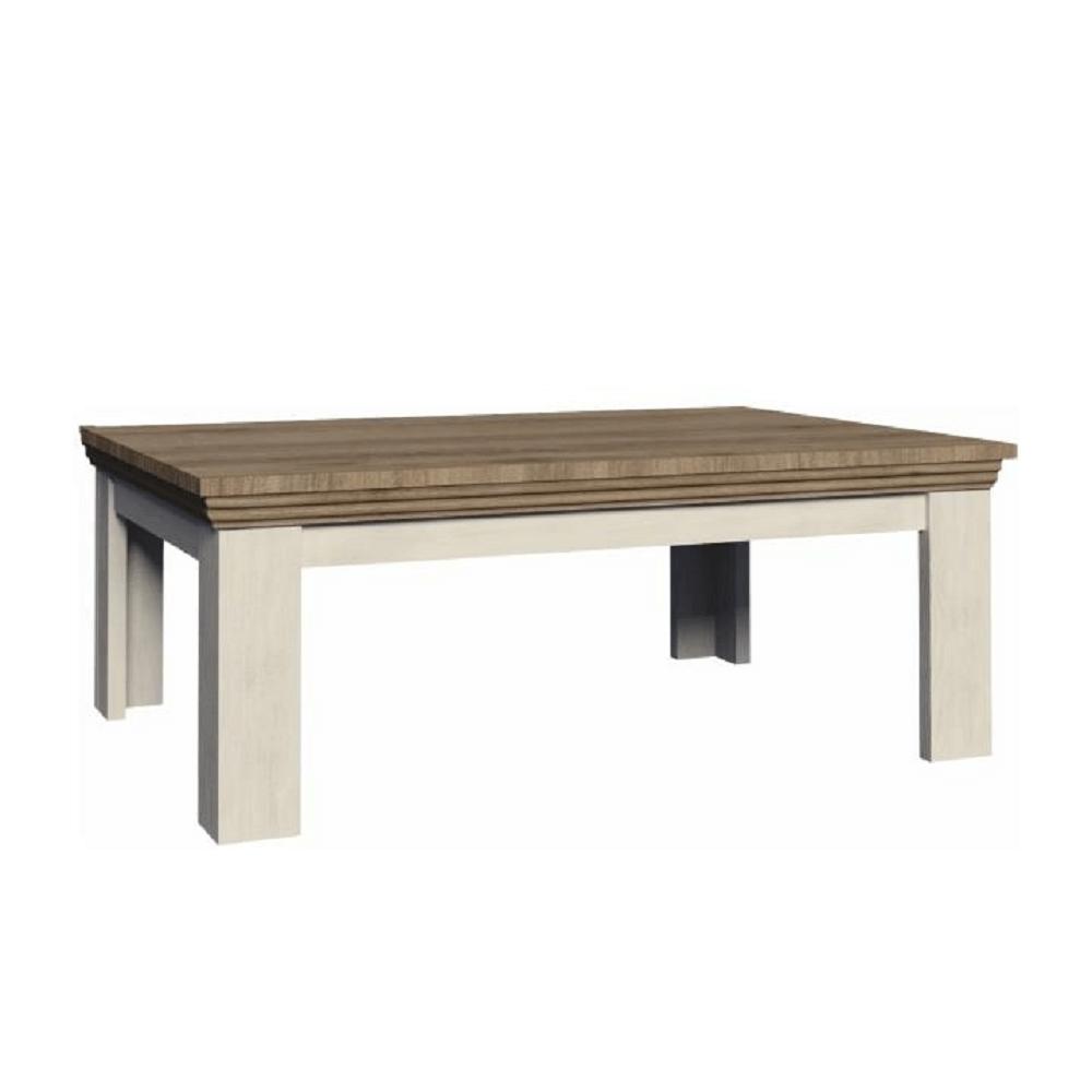 Konferenčný stolík, sosna nordická/dub divoký, ROYAL LN2