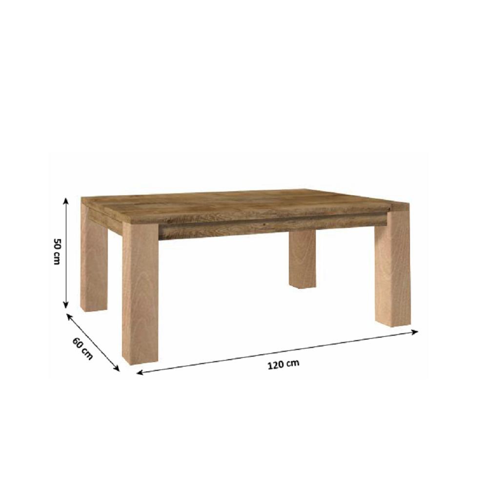 Konferenční stolek, dub lefkas, NEVADA LN, TEMPO KONDELA