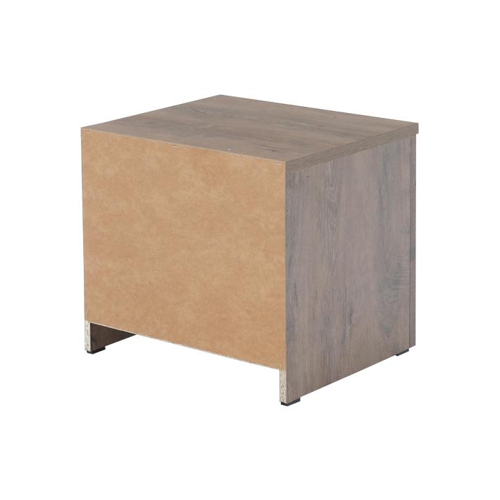 Noční stolek, dub lefkas tmavý, MONTANA SN