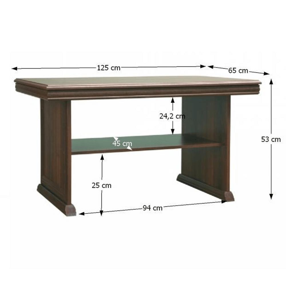 Konferenční stolek, samoa king, KORA KL2, TEMPO KONDELA
