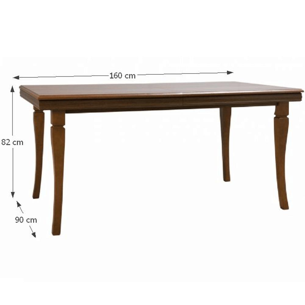 Rozkládací jídelní stůl, samoa king, KORA ST, TEMPO KONDELA