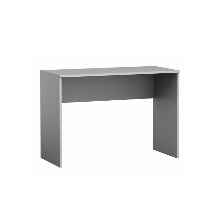PC stôl, sivá/biela/fialová, PIERE P08
