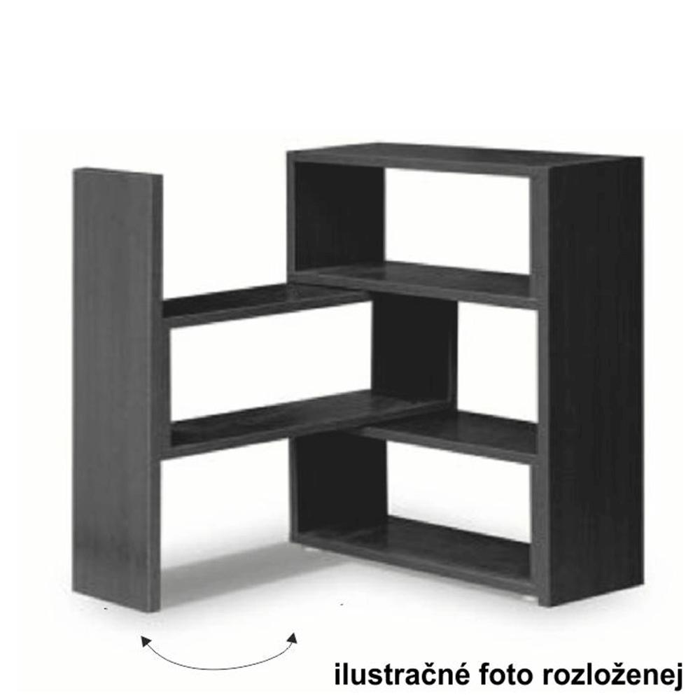 Regál, dub sonoma, KLOE III