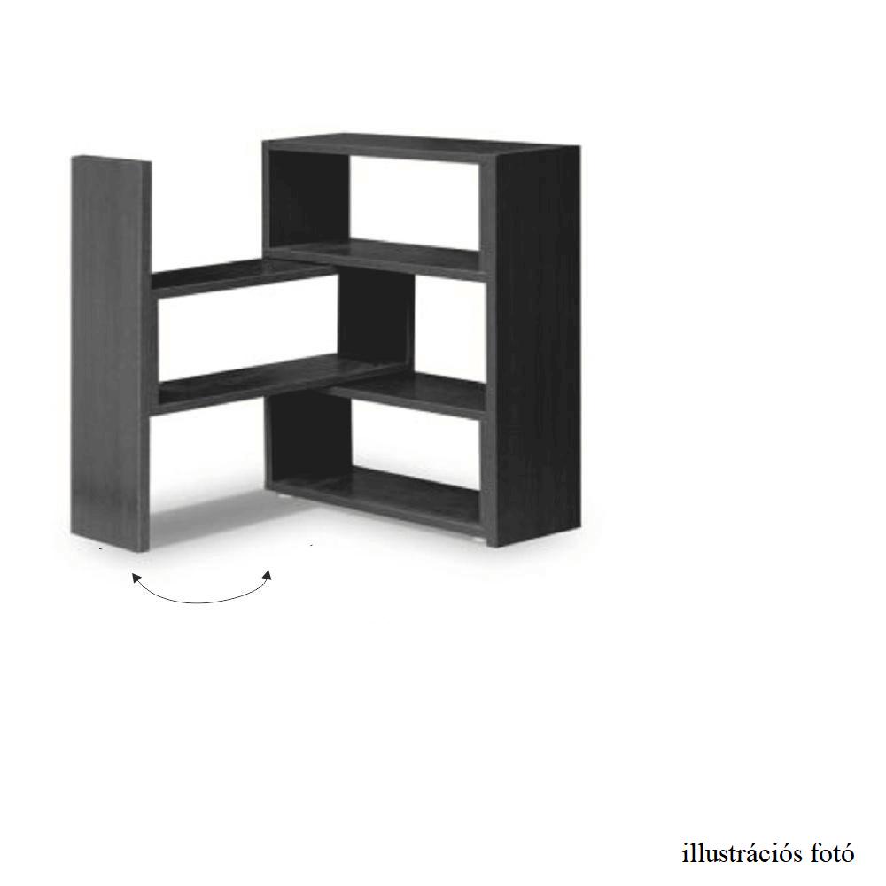 Könyvespolc, fehér, KLOE III