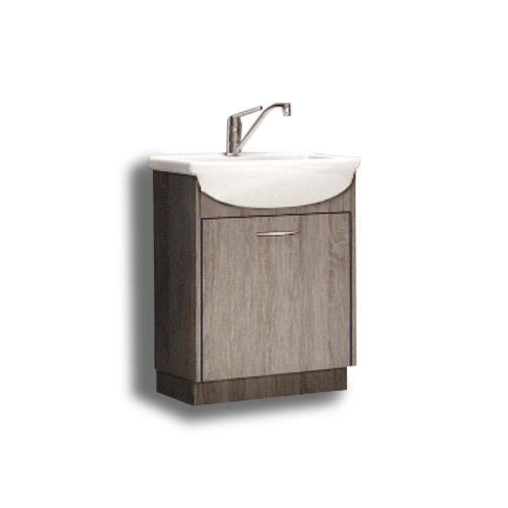 OLIVIA mosdóalatti szekrény, trufla sonoma tölgyfa