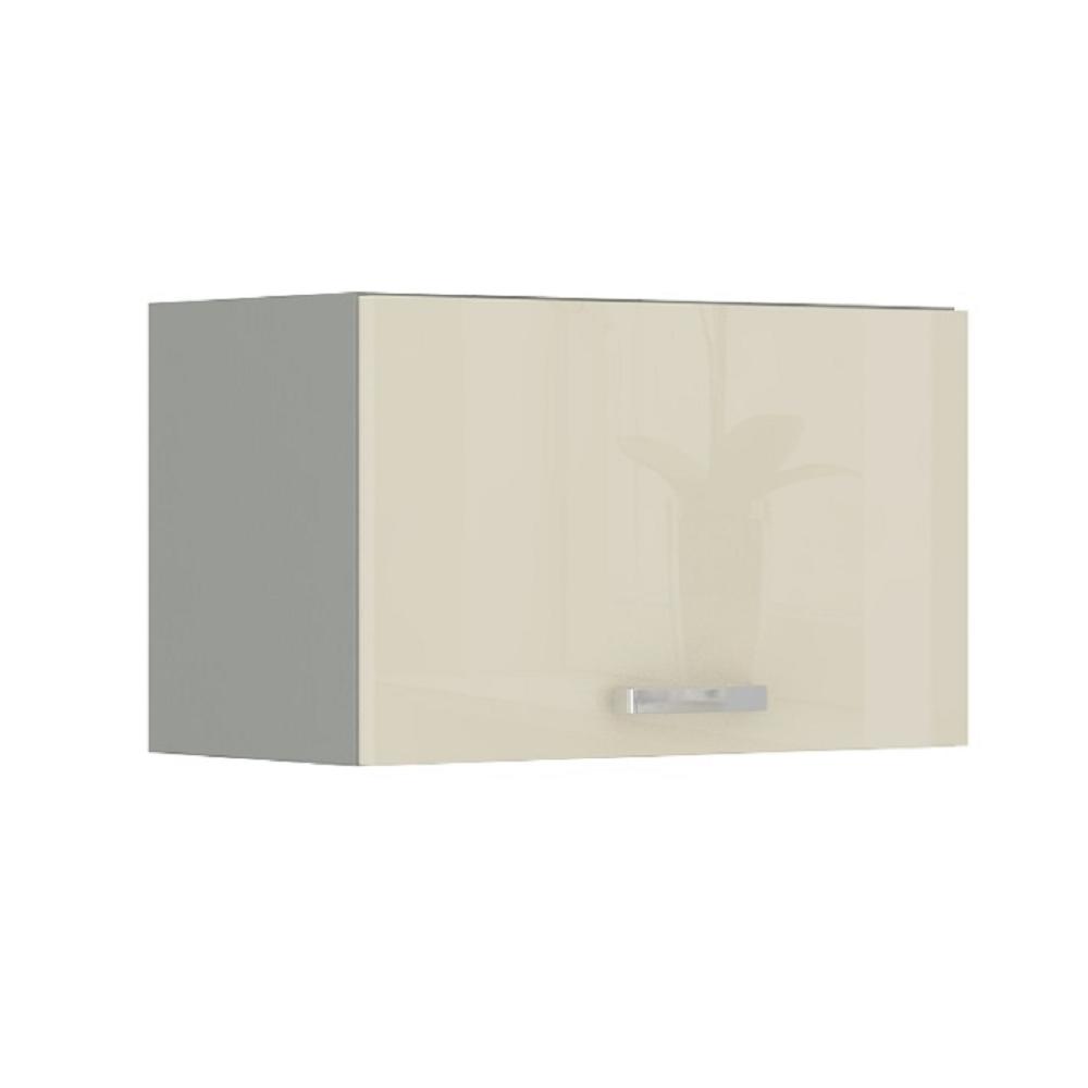 Skříňka horní, krém vysoký lesk, PRADO 60 OK-40, TEMPO KONDELA
