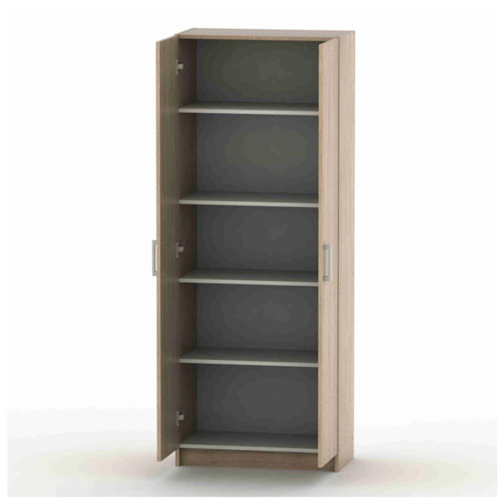 2-dveřová skříň, policová, dub sonoma, BETTY 7 BE07-004-00, TEMPO KONDELA