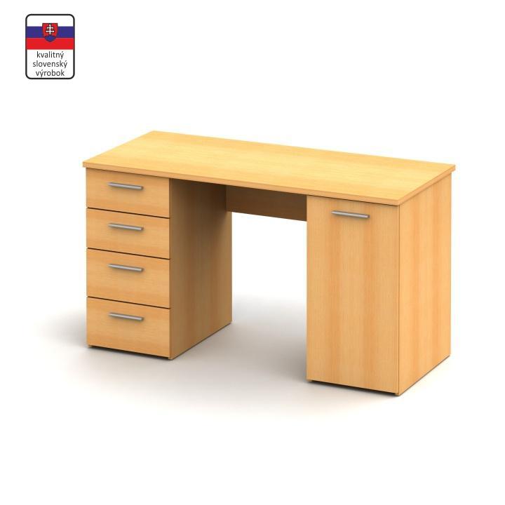 Písací stôl, buk, EUSTACH