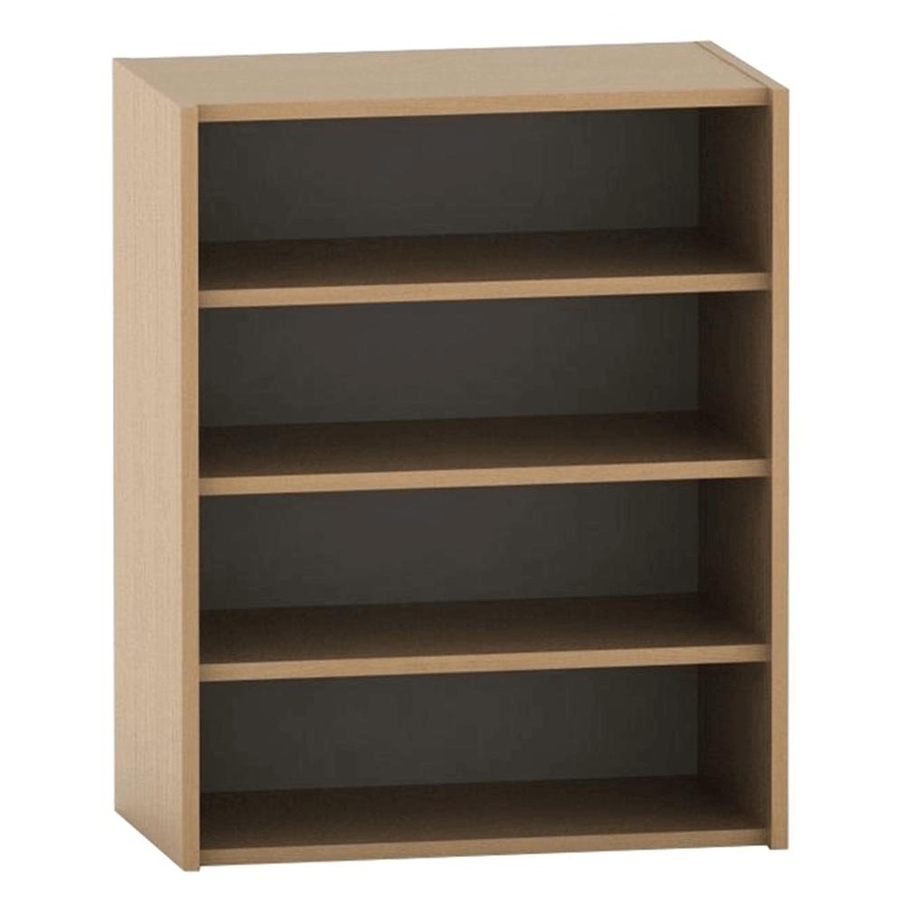 Alacsony könyvespolc, bükk, TEMPO ASISTENT NEW 013