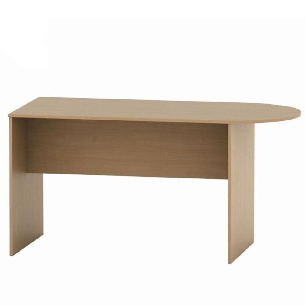 Zasedací stůl s obloukem 150, buk, TEMPO ASISTENT NEW 022, TEMPO KONDELA