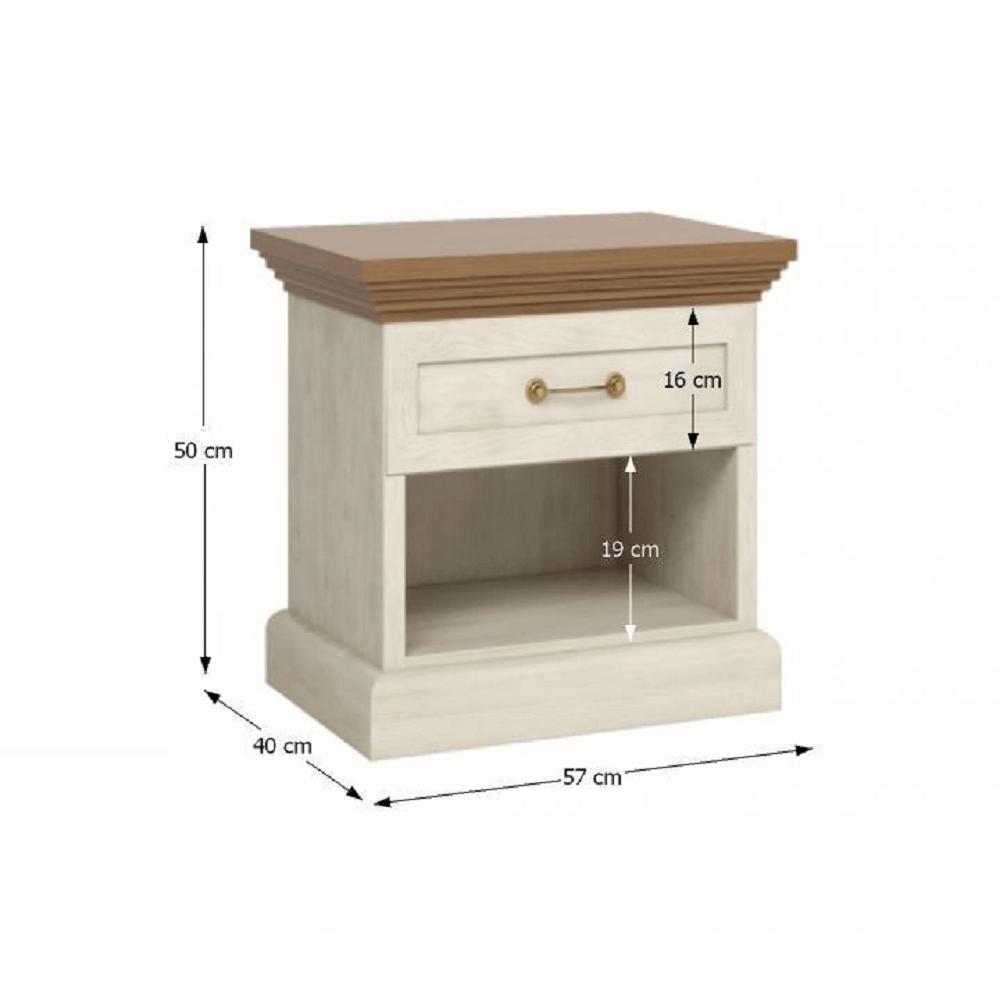 Ložnicová sestava nábytku, ROYAL, TEMPO KONDELA