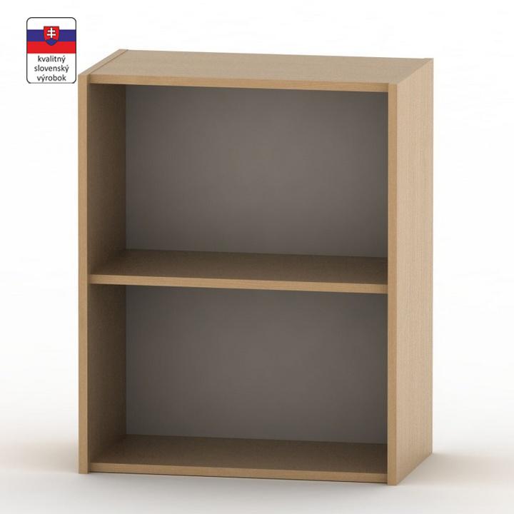 Alacsony szekrény, bükkfa, TEMPO ASISTENT NEW 010