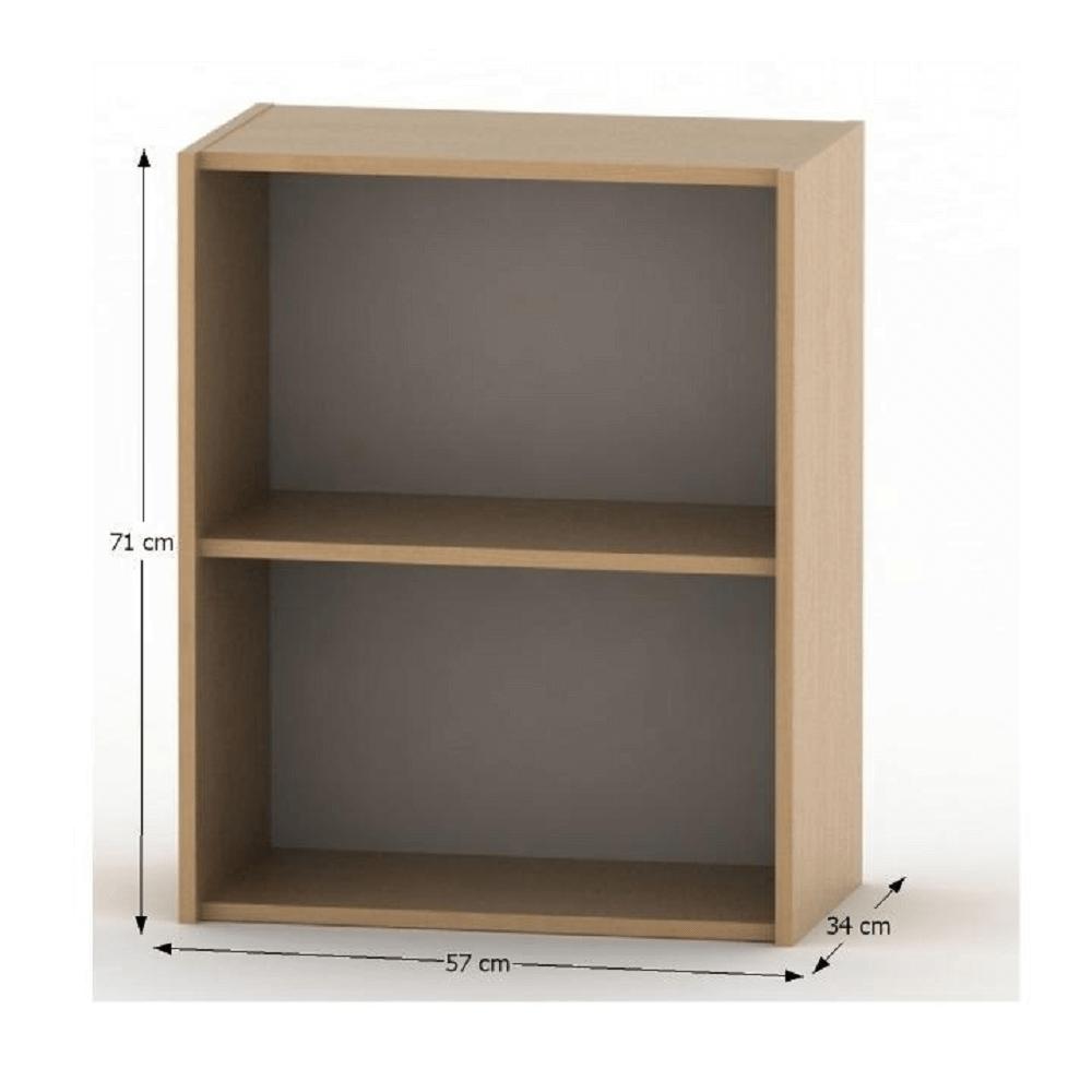 Alacsony polcosszekrény, bükk, TEMPO ASISTENT NEW 010