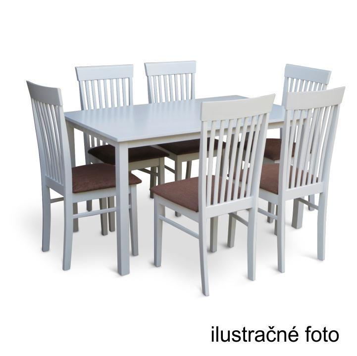 Étkezőasztal 110, fehér, ASTRO