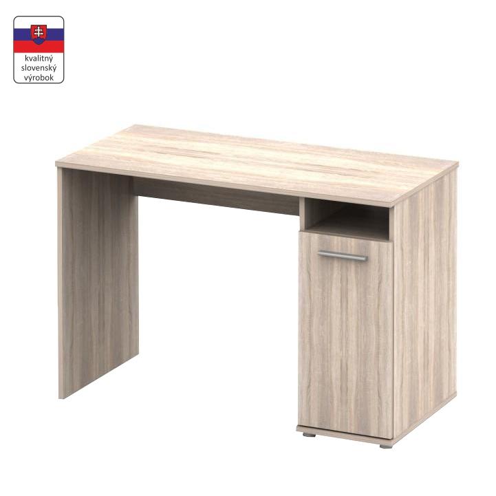 PC stôl, dub sonoma,  NOKO-SINGA 21
