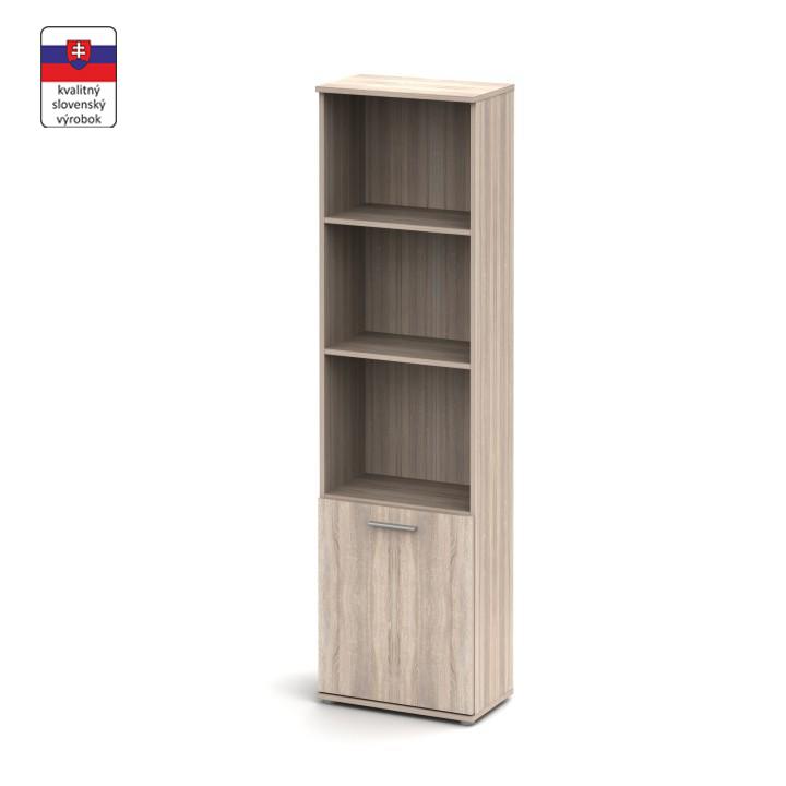 Polcos szekrény, sonoma tölgyfa, NOKO-SINGA 71