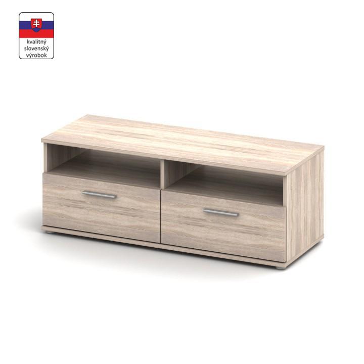 TV stolík/skrinka, dub sonoma, NOKO-SINGA 12