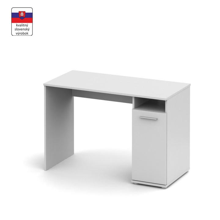 PC asztal, fehér, NOKO-SINGA 21