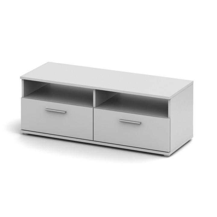 TV stolík/skrinka, biela, NOKO-SINGA 12
