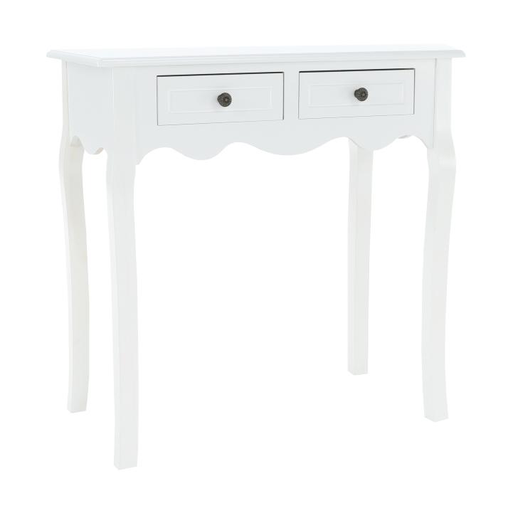 Toaletný stolík, biela, WAGNER 2