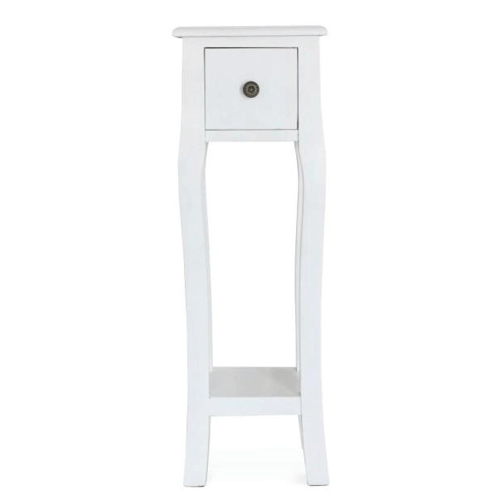 Toaletní stolek / toaletka, bílá, WAGNER 3